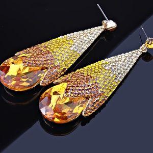 Florasfantasies, Water Drop, Chandelier, Earrings